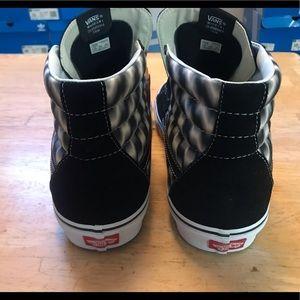 Vans Shoes - Vans Sk8-Hi Blury Checkered Shoes Sneakers Mens 13